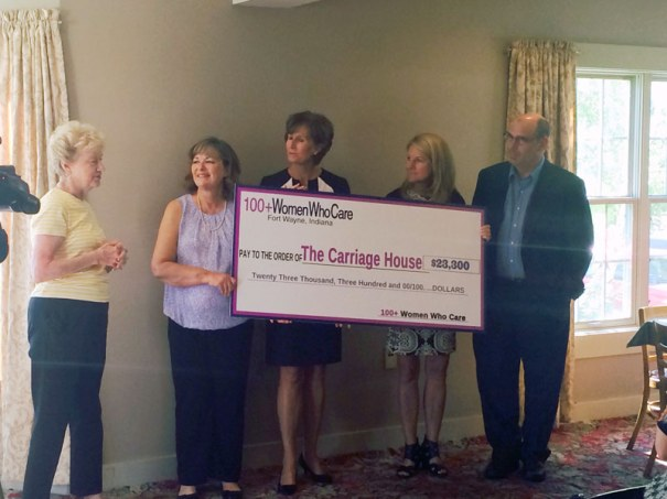 the Carriage House Donation