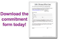 Download the commitment form today!