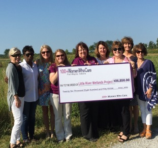 Latest Contribution of $26,850 to Little River Wetlands Project